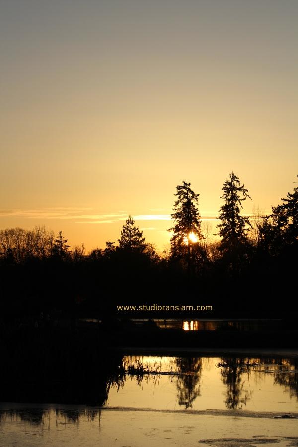 Sunset at Talking Water