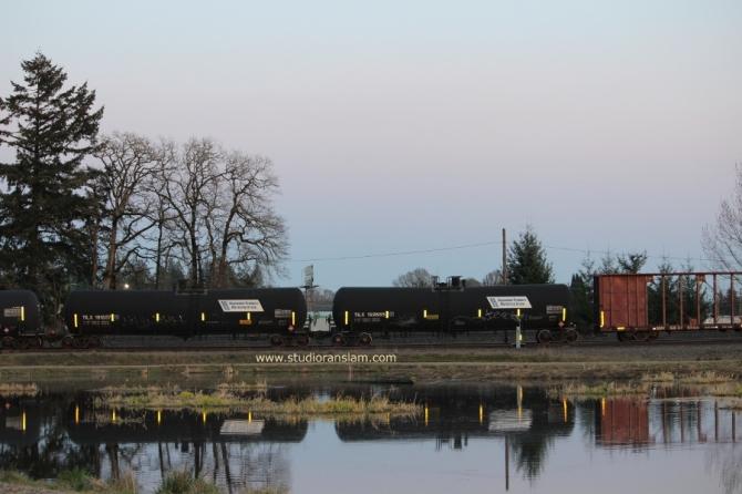 Train at Talking Water