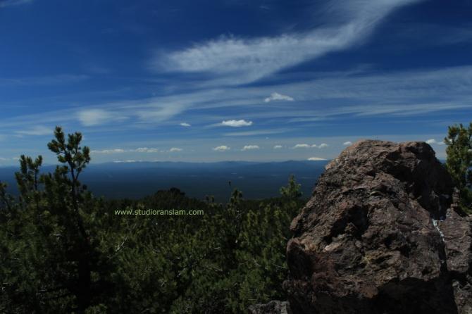 View SE from Paulina Peak