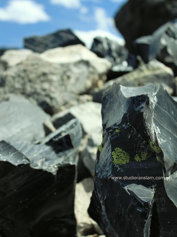 Lichen Obsidian