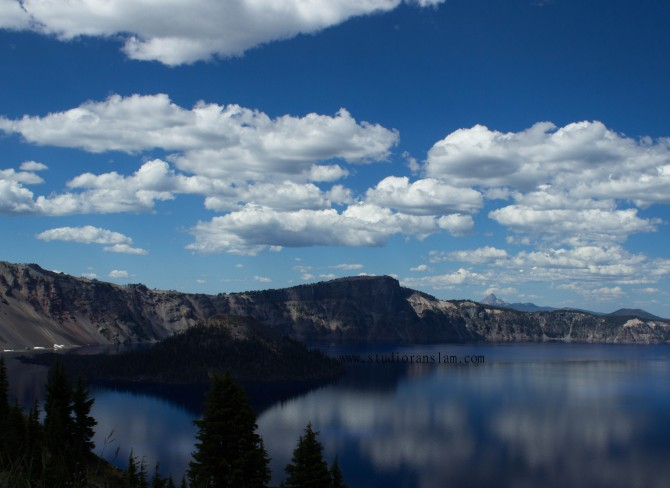Crater Lake with Wizard Island