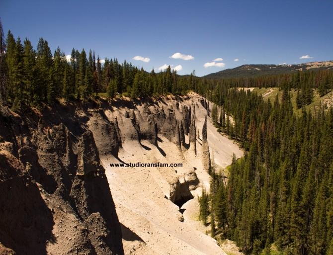 Pinnacles at Crater Lake-2